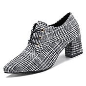 Women's Shoes Cashmere Spring Comfort Hee...