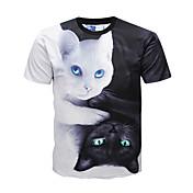 Men's Punk & Gothic Street chic T-shirt -...