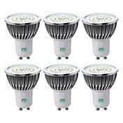 YWXLIGHT® 6pcs 7W 600-700lm GU10 LED Spot...