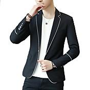 Men's Active Blazer-Solid Colored