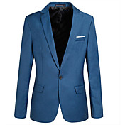 Men's Blazer - Solid Colored, Oversized