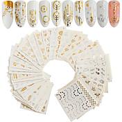 30 pcs Konstgjorda nageltips Nail Art Kit...