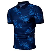 Men's Business Basic Plus Size Polo - Geo...