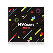 H96 Max 4G+64G TV Box Android 7.1 TV Box ...