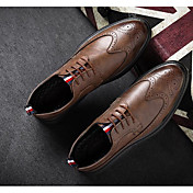 Men's Shoes Cowhide Spring / Fall Comfort...
