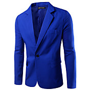 Men's Business Blazer - Solid Colored