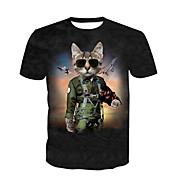 Men's Basic Plus Size Cotton T-shirt - An...