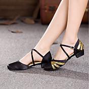 Women's Modern Shoes Paillette / Satin He...
