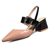Women's Shoes Patent Leather Summer Comfo...