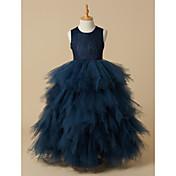 Ball Gown Floor Length Flower Girl Dress ...