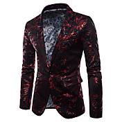 Men's Party Active Cotton Blazer - Rainbo...