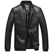 Men's Vintage Jacket - Solid Colored