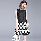 Women's Vintage Street chic Shift Dress -...
