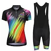 Malciklo Women's Cycling Jersey with Bib ...