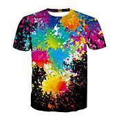 Men's Street chic T-shirt - Rainbow / Sho...