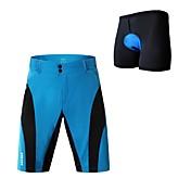 WOSAWE Men's Cycling Padded Shorts Bike P...