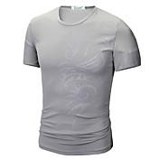 Men's Basic T-shirt - Geometric