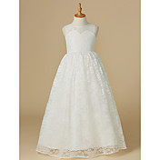 Princess Floor Length Flower Girl Dress -...