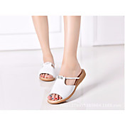 Women's Shoes Cowhide Summer Comfort Sand...