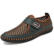 Men's Shoes Tulle Spring / Fall Comfort L...