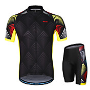 Arsuxeo Men's Short sleeves Cycling Jerse...