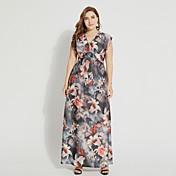 TS - Sweet Curve Women's Boho Swing Dress...