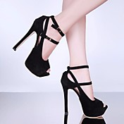 Women's Shoes Flocking Summer Basic Pump ...