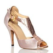 Women's Latin Shoes Satin Sneaker Satin F...