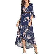 women's loose swing dress asymmetrical