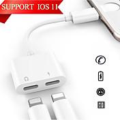 Belysning 1 till 2 Adaptor iPhone för 12 ...