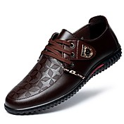 Men's Patent Leather Spring Comfort Oxfor...