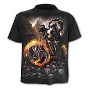 Men's Skull / Active T-shirt - Geometric ...