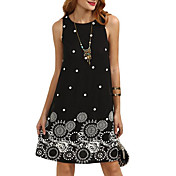 women's going out a line dress above knee