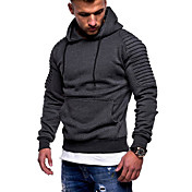 Men's Basic Hoodie - Solid Colored