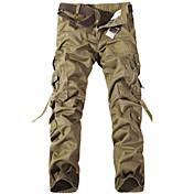 Men's Military Cargo Pants Pants - Solid ...