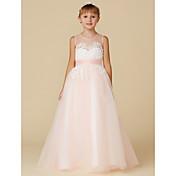 Princess Floor Length Flower Girl Dress -...