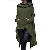 Women's Basic / Street chic Trench Coat -...