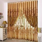 Blackout Curtains Drapes Living Room Flor...