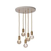 5-Light Globe Pendant Light Ambient Light...