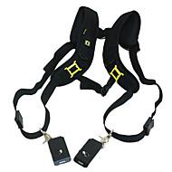 Quick Release Dubbele schouder camera hals riem voor 2 Digitale SLR Camera