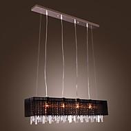 Luzes Pingente ,  Contemprâneo Ilha Outros Característica for Cristal Metal Sala de Jantar
