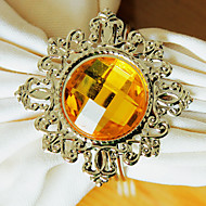 Diamond Wedding lautasliinarengas Sarjassa 12, Metal Crystal Dia 4.5cm