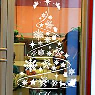 Árvores/Folhas Clássico Adesivo de Janela,PVC/Vinil Material Decoração de janela