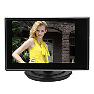 3,5 pouces tft lcd moniteur réglable pour caméra cctv avec entrée vidéo av rca