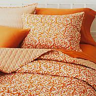 huani® peitto sarja, 3-osainen 100% puuvillaa maan tyyliin aprikoosi Arabesque