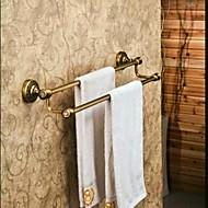 Pyyhetanko Antiikkinen pronssi Seinään asennettu 60*14cm(23.62*5.51inch) Messinki Antiikkinen