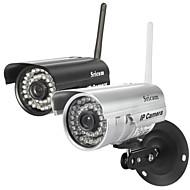 sricam® ip kamera vandtæt dag nat trådløs 1/4 tommer farve CMOS-sensor