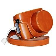 pajiatu® המצלמה pu עור רטרו מגן מקרה עם יציאת הטעינה עבור m2 ii g1x סימן g1x PowerShot Canon