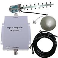 pcs 1900MHz signal de mobile amplificateur de puissance kit antenne booster 500m²