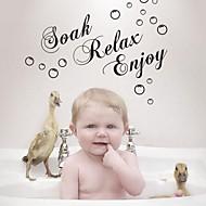 kylpyhuone tarra seinä tarroja Seinätarrat, liota rentoutua nauttia kylpyhuone tarra